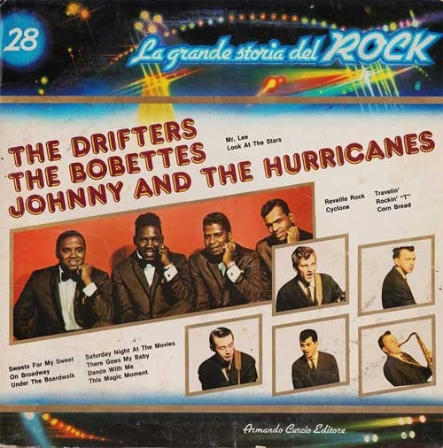 The Drifters / The Bobbettes / Johnny And The Hurricanes ‎– La Grande Storia Del Rock 28