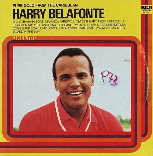 Harry Belafonte ‎– Pure Gold From The Caribbean