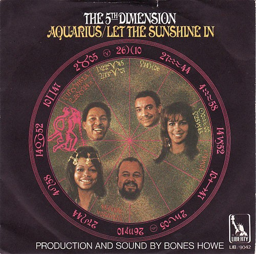 5th Dimension ‎– Aquarius / Let The Sunshine In