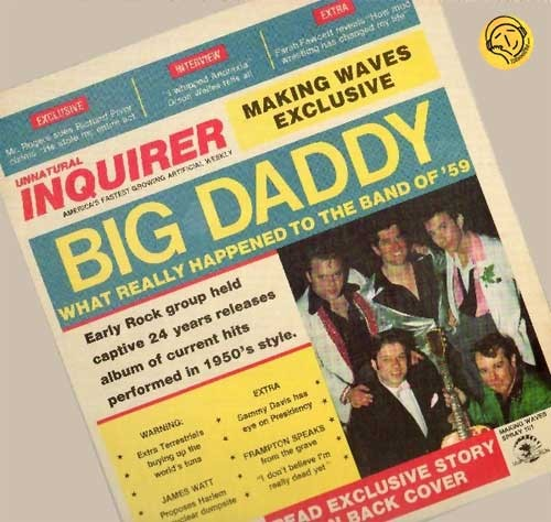 Big Daddy – Big Daddy. What Really Happened To The Band Of '59