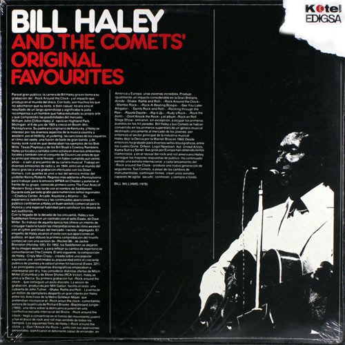 Bill Haley And The Comets – Original Favorites