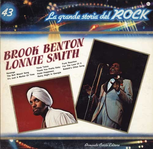 Brook Benton / Lonnie Smith ‎– La Grande Storia Del Rock 43