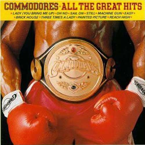 Commodores – All The Great Hits