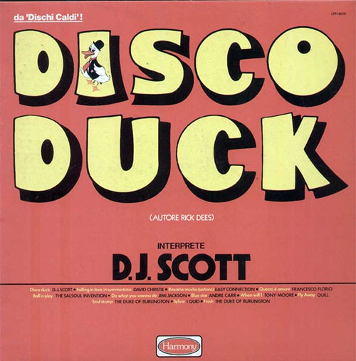 D. J. Scott ‎– Disco Duck
