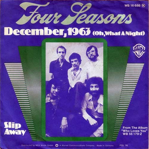 Four Seasons – December, 1963 (Oh, What A Night)