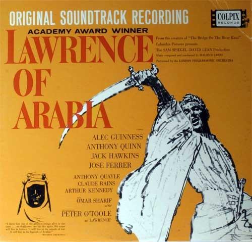 Maurice Jarre – Lawrence Of Arabia (Colonna Sonora Originale)