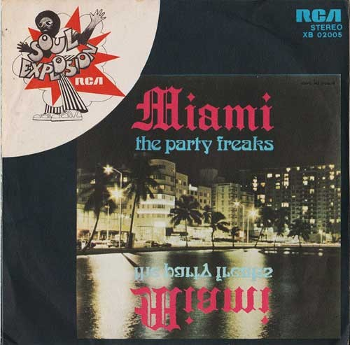 Miami Featuring Robert Moore – Party Freaks