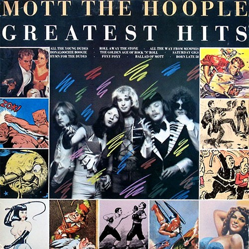 Mott The Hoople ‎– Greatest Hits