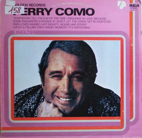 Perry Como ‎– Golden Records