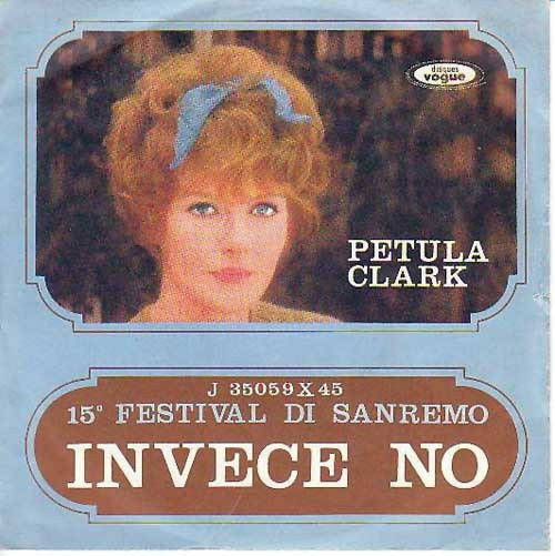 Petula Clark – Invece No