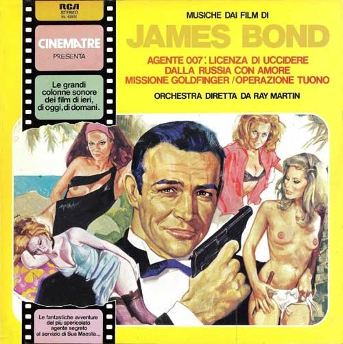 Ray Martin And His Orchestra ‎– Musiche Dai Film Di James Bond