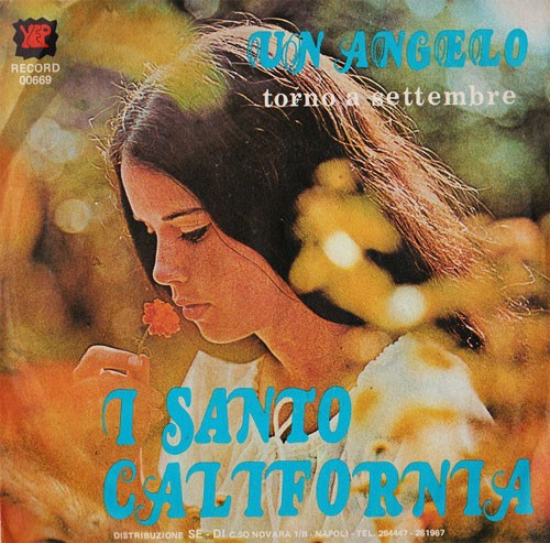 Santo California ‎– Un Angelo