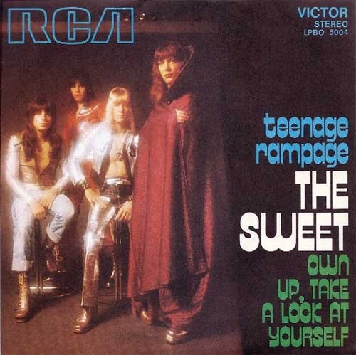 Sweet ‎– Teenage Rampage