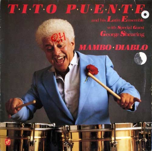 Tito Puente And His Latin Ensemble (with George Shearing) ‎– Mambo Diablo