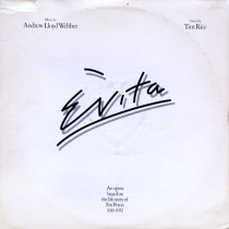 Andrew Lloyd Webber And Tim Rice – Evita (2 LP)