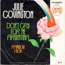 Julie Covington ‎– Don't Cry For Me Argentina