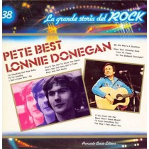 Pete Best / Lonnie Donegan ‎– La Grande Storia Del Rock 38